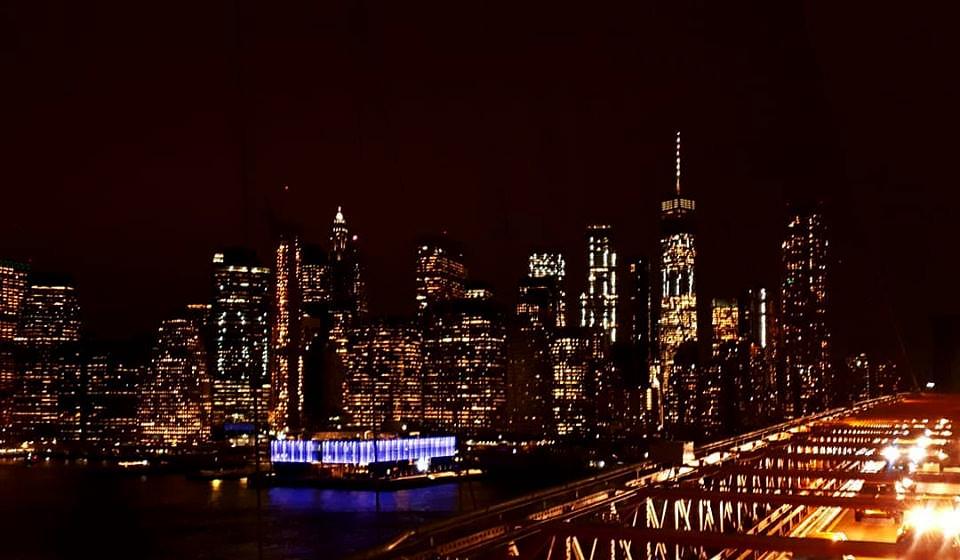 Nowy Jork nocą, fot. Magdalena Gorgol-Rzepecka